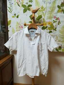 JOSEPH ABBOUD / ジョセフ アブード白色ポロシャツXS