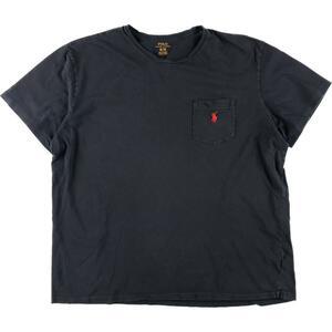 ラルフローレン Ralph Lauren POLO RALPH LAUREN ワンポイントロゴポケットTシャツ メンズXL /eaa149932