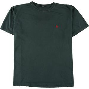 ラルフローレン Ralph Lauren POLO by Ralph Lauren ワンポイントロゴTシャツ メンズXL /eaa151659