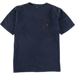 ラルフローレン Ralph Lauren POLO by Ralph Lauren ワンポイントロゴポケットTシャツ メンズL /eaa148561