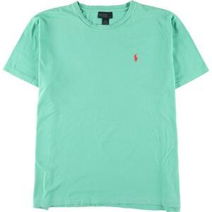 ラルフローレン Ralph Lauren POLO by Ralph Lauren ワンポイントロゴTシャツ メンズXL /eaa151746
