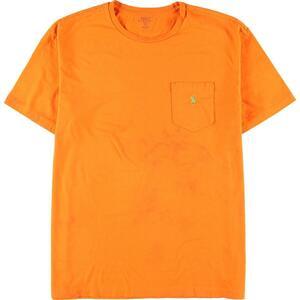 ラルフローレン Ralph Lauren POLO RALPH LAUREN ワンポイントロゴポケットTシャツ メンズXL /eaa151748