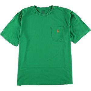 ラルフローレン Ralph Lauren POLO by Ralph Lauren ワンポイントロゴポケットTシャツ メンズXL /eaa155206