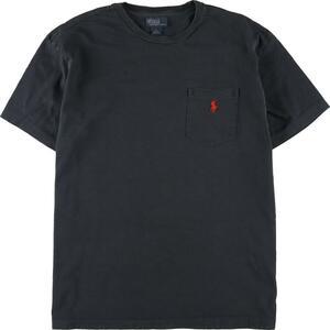 ラルフローレン Ralph Lauren POLO by Ralph Lauren ワンポイントロゴポケットTシャツ メンズL /eaa154592