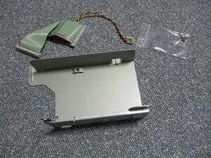 PC-98用 内蔵ハードディスクの取付ステーのみ (ケーブル、ネジはおまけ)  PC-9821Xs,Xpなどで使ったもの