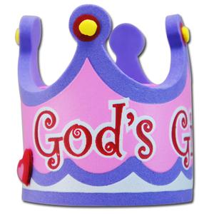 ゴッド ガール クラウン アンテナボール アンテナトッパー 車 目印 飾り カスタム USA プリンセス 王冠 アメ車 グッズ 定形外