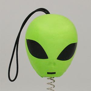エイリアン アンテナボール アンテナトッパー 車 目印 飾り カスタム USA 宇宙人 未確認生命体 UFO アメ車 グッズ 定形外