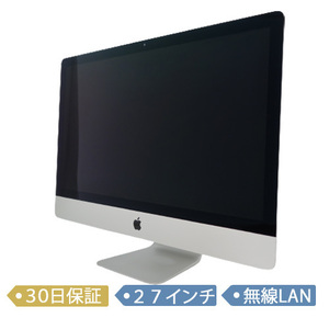 Apple iMac Retina 5K/MK462J/A/Core i5 3.2GHz/1TB/メモリ8GB/27インチ/Mac OS(10.11)/【可】