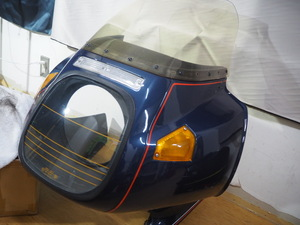 BMW R1100RT純正アッパーカウル一式 程度まずまず②メーター付き