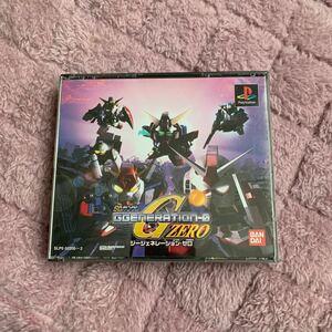 PlayStationソフト SDガンダムGジェネレーションゼロ