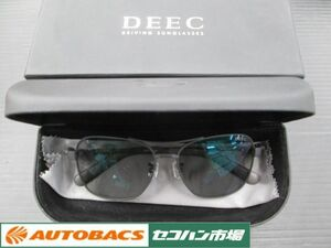 1503 Estori DEECti-k driving sunglasses mat black [ with translation long time period stock ] unused