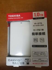 東芝 ポータブルハードディスク 1.0TB