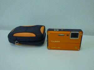 【送料無料】Panasonic LUMIX 防水防塵デジタルカメラ DMC-FT2 パナソニック/ルミックス《 ケース付き/ジャンク現状品》12002