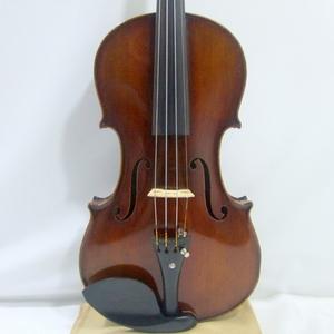 初期物 1900年頃 M SUZUKI No 5 虎杢 4/4 超初期 鈴木バイオリン 6コインラベル 明治時代 国産アンティーク ヴァイオリン