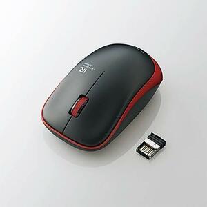 日々のパソコン操作に安心をプラスする抗菌仕様!約2.5年電池交換不要の赤外線LEDを使用したワイヤレスIR LEDマウス : M-IR07DRKRD