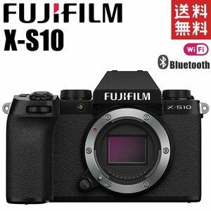 富士フイルム FUJIFILM X-S10 ボディ ブラック Wi-Fi Bluetooth搭載 ミラーレス一眼レフ カメラ レンズ 中古
