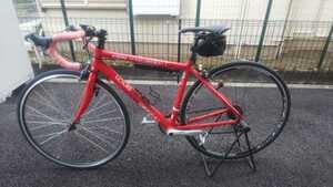 ★ 引き取り限定 ロードバイク ルイガノ 赤 神奈川