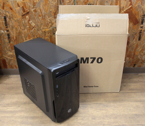 DO-MU ドーム ゲーミングPC 魂のPC 嵐 iGuju M70 Corei5-4440 @3.10GHz メモリ8GB HDD500GB GeForce GTX760 windows10 中古品