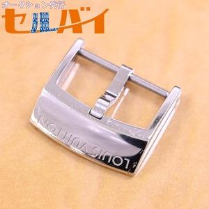 本物 超美品 ヴィトン 現行モデル アーディヨンバックル タンブールGM 対応 18mm幅 腕時計用 ウォッチベルト 尾錠 バンド LOUIS VUITTON