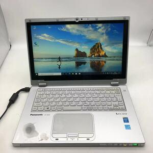 タッチパネル/office2019/新品 SSD 256GB/Panasonic/Let's note CF-AX3/第四世代 Core i3/メモリ4GB/11.6インチ/FHD液晶1920×1080/★80