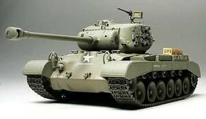 ■即決タミヤ 1/35マスターワーク【アメリカ戦車 M26パーシング 第3機甲師団第33機甲連隊 (完成品)