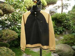 NIKEナイキ 良美レデイースジャージジャケット L寸 身長160-170cm 黒/ベージュ 伸縮素材 スウェット トップス スポーツ 室内着 パジャマ