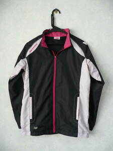 NEW BALANCEニューバランス 良美ウインドブレークジャケット ブラック レディースM 身長157-163/胴囲80-86cm 運動/スポーツ トレーニング