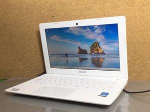 1円~【訳アリ】11.6インチ/Windows10/office搭載/Webカメラ搭載!ビデオ通話対応【ASUS X200M X200MA】Celeron N2830/メモリ4GB/HDD500GB