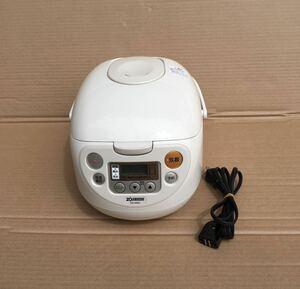 象印 NS-WB10 マイコン炊飯器 5.5合炊き ベージュ 極め炊き 黒厚釜