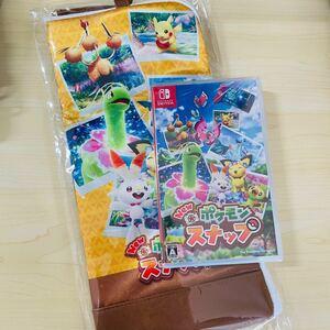 ポケモンスナップ+マルチポーチ GEO限定 新品未開封  Nintendo Switch ポケモン ピカチュウ 任天堂