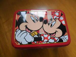 「東京ディズニーランド」缶ケース ミッキーマウス ミニーマウス Disney