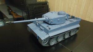 1120 3818-1P 017 ヘンロン 1/16 タイガーI戦車(メタル版) 7.0ver 砲身もリコイル henglong