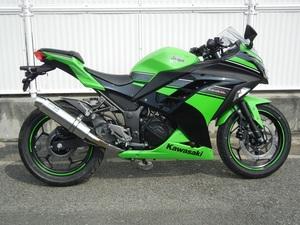 新品 WR'S Ninja250/ABS 2013 (JBK-EX250L) スリップオン ステンレス/ステンレス BF4250JM ニンジャ ダブルアールズ マフラー