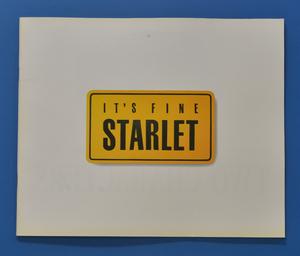 トヨタ  スターレット TOYOTA STARLET EP82 1995年7月 カタログ 送料無料 価格表付 TOM2104