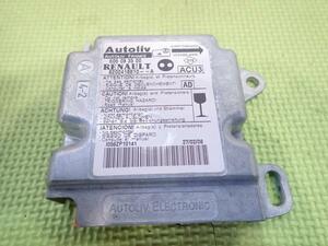 * Renault Kangoo KCK4M right steering wheel original airbag SRS computer 606083500 16765630