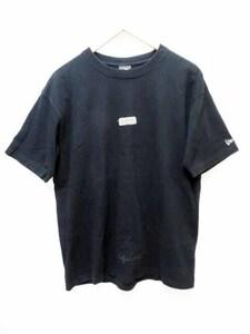 ヨウジヤマモトプールオム YOHJI YAMAMOTO POUR HOMME 希少 18AW NEW ERA ニューエラ コラボ ボックスロゴTシャツ XL 210413