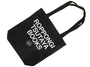 フラグメントデザイン FRAGMENT DESIGN × 六本木 蔦屋書店 極美品 トート バッグ キャンバス プリント ロゴ 黒 ブラック