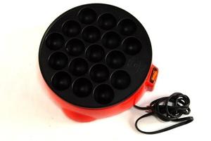 【昭和レトロ】電気卓上たこ焼き器(m-56)【新品未使用】