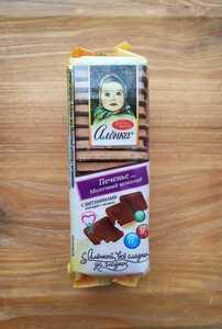 アリョンカ alionka ロシア 菓子 お菓子 ビスケット クッキー ココア Russia 190g
