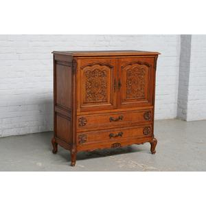#6362 ヨーロッパ市場在庫品 アンティーク家具 キャビネット 1920年代 ベルギー原産 オーク製