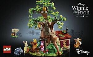 流通限定商品 LEGO アイデア くまのプーさん disney winnie the poo レゴ ディズニー 21326