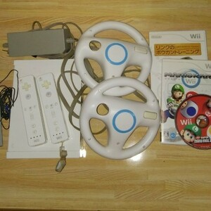 Wii本体一式 マリオカート ニンテンドーWii本体 NINTENDO