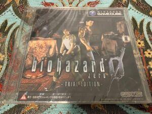 GC体験版ソフト バイオハザード0 TRIAL EDITION カプコン CAPCOM biohazard ZERO DEMO DISC 非売品 未開封 実演用サンプル Nintendo