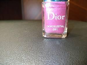 人気 即決 Dior クリスチャン ディオール ヴェルニ ネイル 891 DIORCELESTIAL 限定 Diorポーチ 希少 レア 国内正規品 送料無料