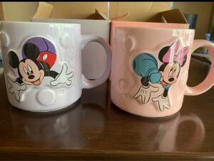ミッキー&ミニー マグカップ