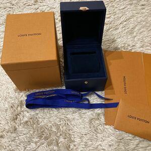 ルイヴィトン タンブール 時計 腕時計 空箱 ケース ウォッチ ボックス 空き箱 リボン LOUIS VUITTON 付属品