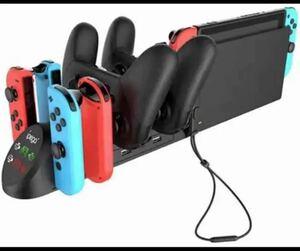 Joy-Con 充電スタンド 4台ジョイコン 2台プロコン
