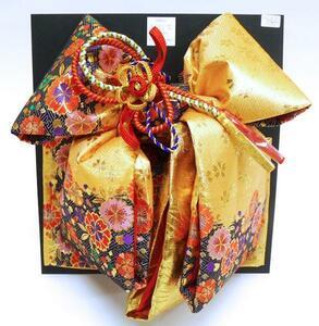 [京の舞姿]七五三7歳高級結び帯(作り帯)大寸d03