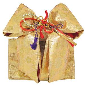 [京の舞姿]七五三7歳結び帯(作り帯)大寸 wsr01金