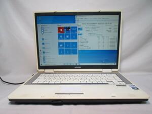 SOTEC DR505 Celeron 900 2.2GHz 4GB 320GB 15インチ DVDマルチ Win10 64bit Office Wi-Fi [78941]